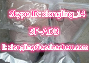 best selling research powder 5f-adb adbf 5f-adb xiongling@aosinachem.com