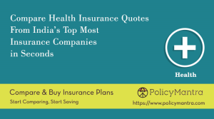 Compare and buy Health Insurance online | PolicyMantra