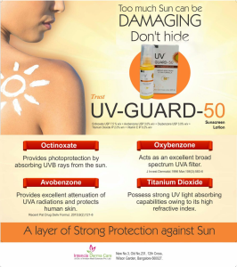 UV-Guard 50 Sunscreen lotion