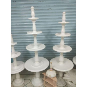 Decorative Makrana White Marble Fountains
