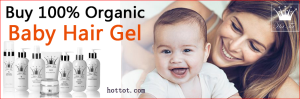 Hot Tot Styling Gel For Baby Hair Styling