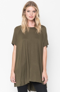 swing tunic tops