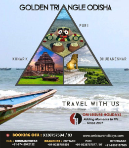 Golden Triangle Odisha Package Om Leisure Holidays