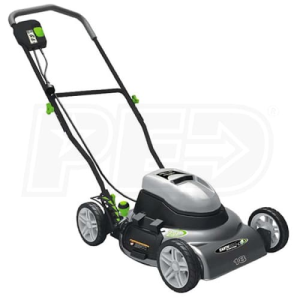 "Earthwise (18"") 12-Amp Electric 2-in-1 Push Lawn Mower"