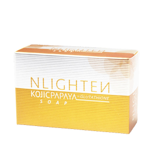 NLIGHTEN Kojic Papaya Soap with Glutathione