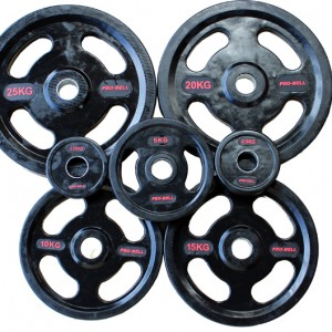 Pro-Bell Rubber Quad Grip Olympic Plates – 157.5Kg Set – £339.95