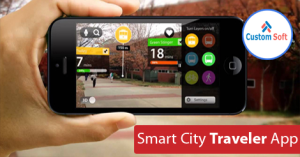 Smart City Traveler App by CustomSoft