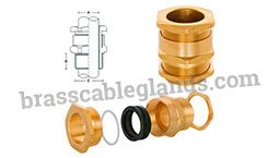 Weatherproof A1 A2 Brass Cable Gland