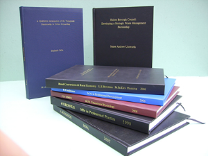 Hardcover Thesis, Dissertation