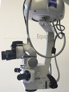 used Carl Zeiss OPMI Visu 150 S7 Surgical Microscope set for sale (technomedicalequipment.com)