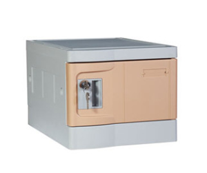 Nine Tier ABS Plastic Office Locker, Multiple Locking Options