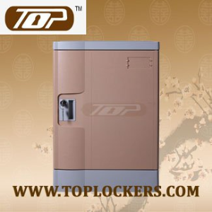 Four Tier ABS Plastic Locker, Multiple Locking Options