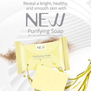 NEW Purifying Soap with Tea Tree Oil and Camu Camu Extract