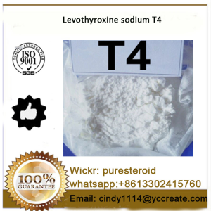 Anabolic Steroid powder T4 L-Thyroxine Sodium salt for weight loss whatsapp+8613302415760