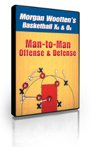 Man-to-Man Offense and Defense by Morgan Wootten