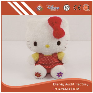 KT Cat Plush Toys Filling 100% PP Cotton Embroidery Pattern
