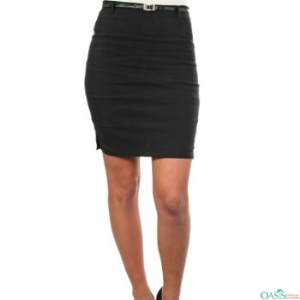 Cheap Black Slim Fit Beauty Skirt Uniforms Suppliers USA, UK