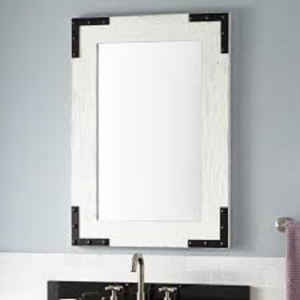 Bonner Reclaimed Wood Vanity Mirror