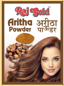 Raj gold Aritha powder