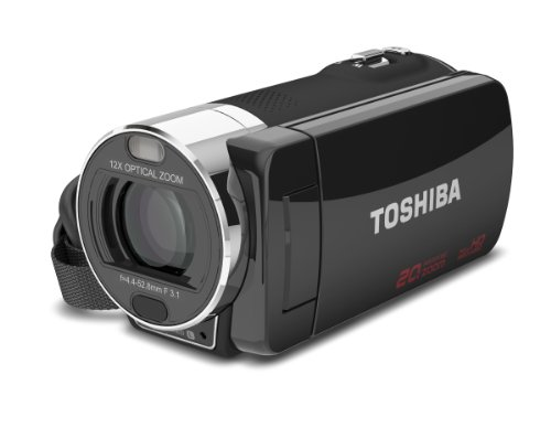 Toshiba Refurbished Toshiba Camileo X200 HD 1080p Camcorder w/ 12x Optical Zoom (p/n PA3973U-1C0K) at Sears.com