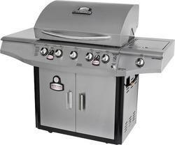 about Brinkmann Smoke N' Grill 5-Burner Propane Gas Grill 810-1751-SC
