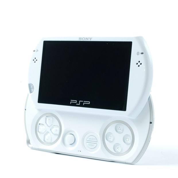 Sony Playstation PSP Go 16GB Handheld Gaming System - Pearl White (P/N 98514)