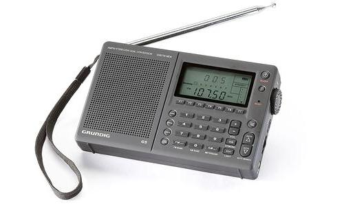 Grundig G5 Global Traveler AM/ FM/ Shortwave Clock Radio (P/N NG35BR)