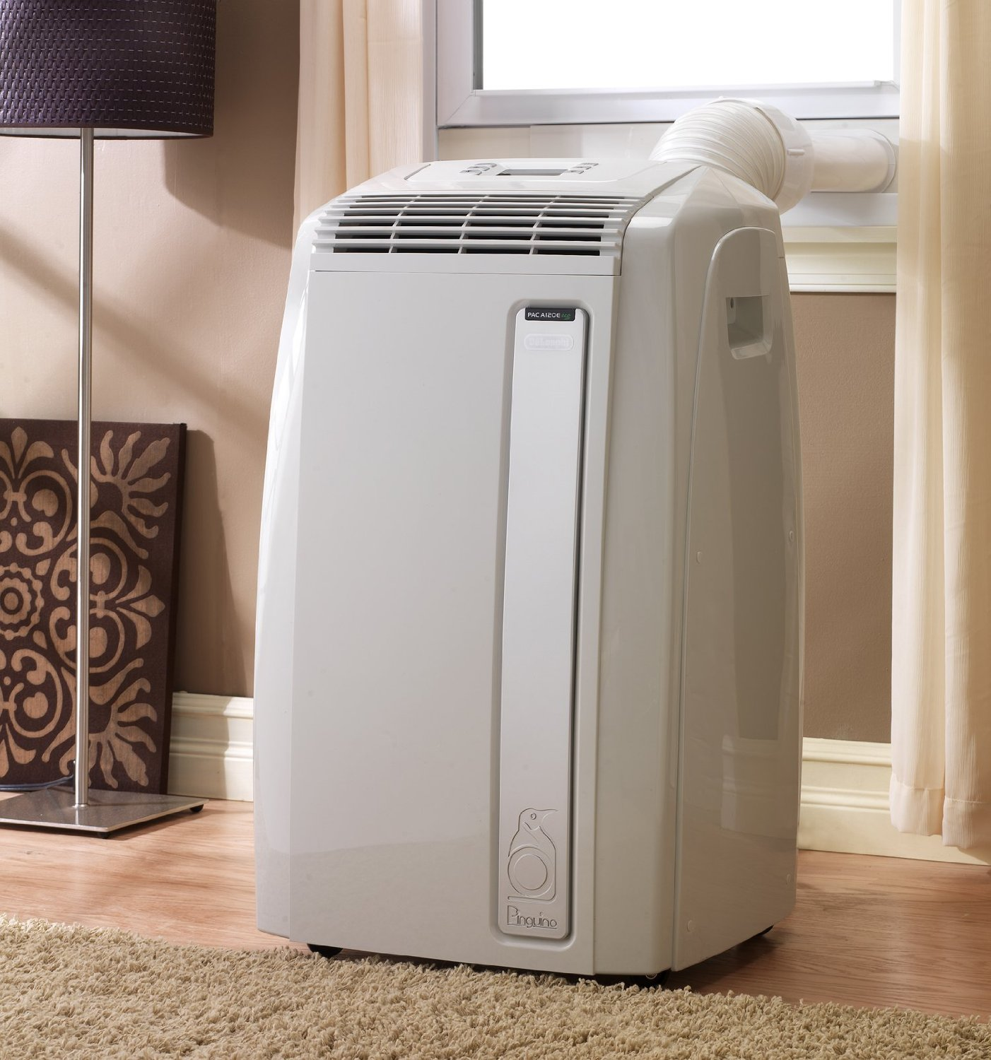delonghi pac a120e 12 000 btu portable air conditioner paccn120e ebay. Black Bedroom Furniture Sets. Home Design Ideas