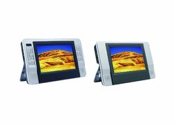 "Sylvania SDVD8727 7"" Dual Screen Portable Car DVD Player"