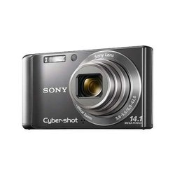 Sony DSC-W370 Cyber-Shot 14.1MP Digital Camera w/ 7x Optical Zoom Black (p/n DSCW370B)