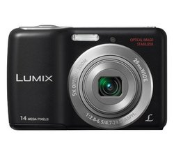 Panasonic Lumix DMC-LS5 14.1MP Digital Camera - Black (P/N DMC-LS5K)