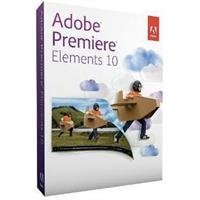 Adobe Premiere Elements 10 for PC and MAC (P/N 65136675)