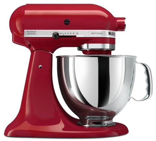 KitchenAid Artisan 5-Quart Stand Mixers Red KSM150PSER