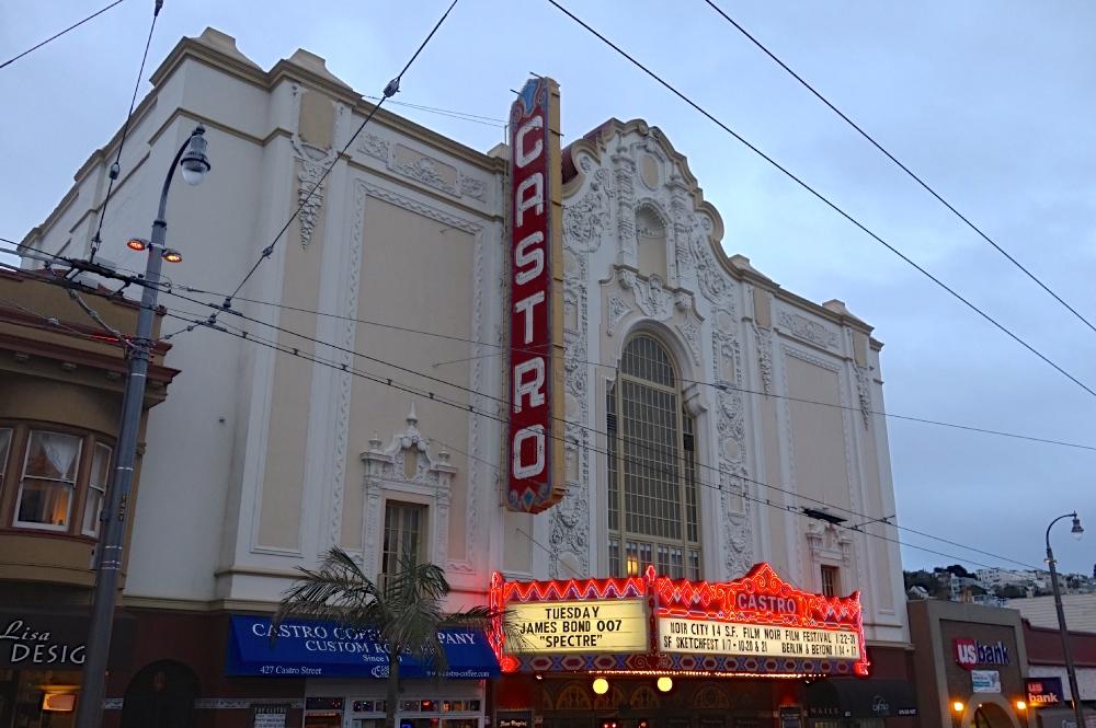 francisco Gay san movie ca theaters