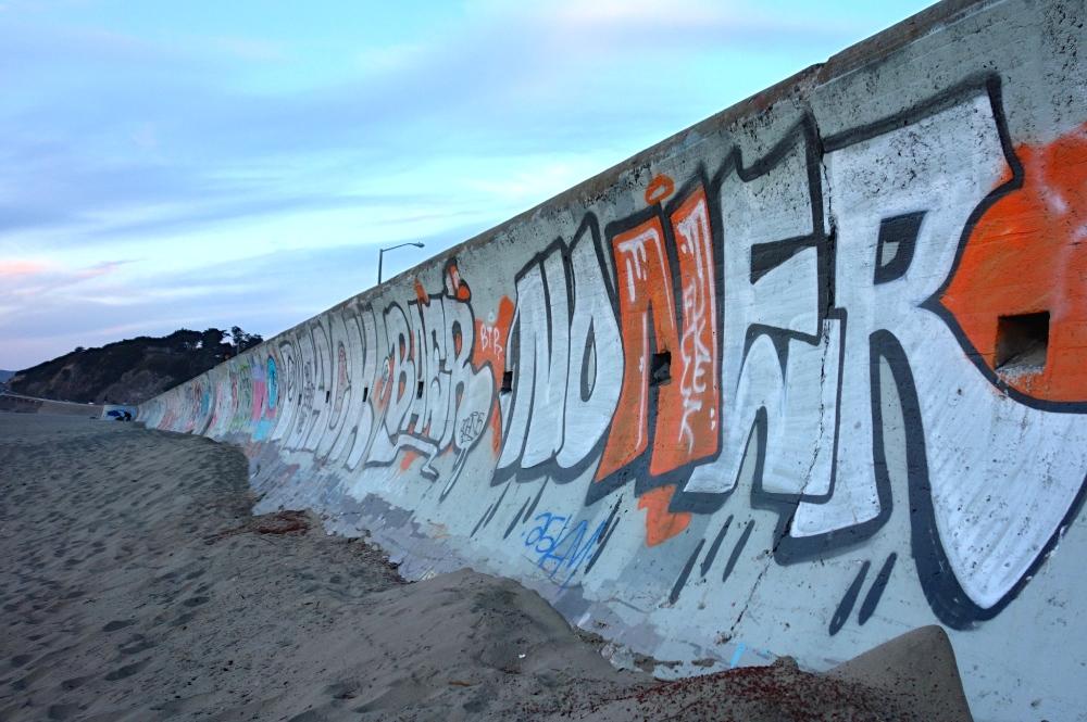 Ocean Beach Graffiti Wall