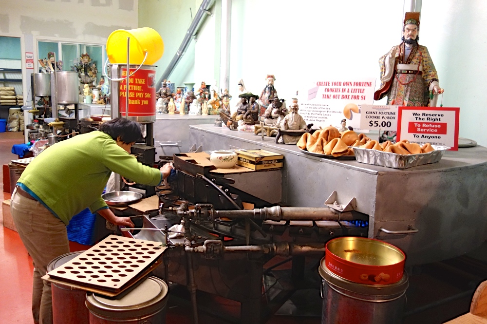 Fortune Cookie Factory Worker