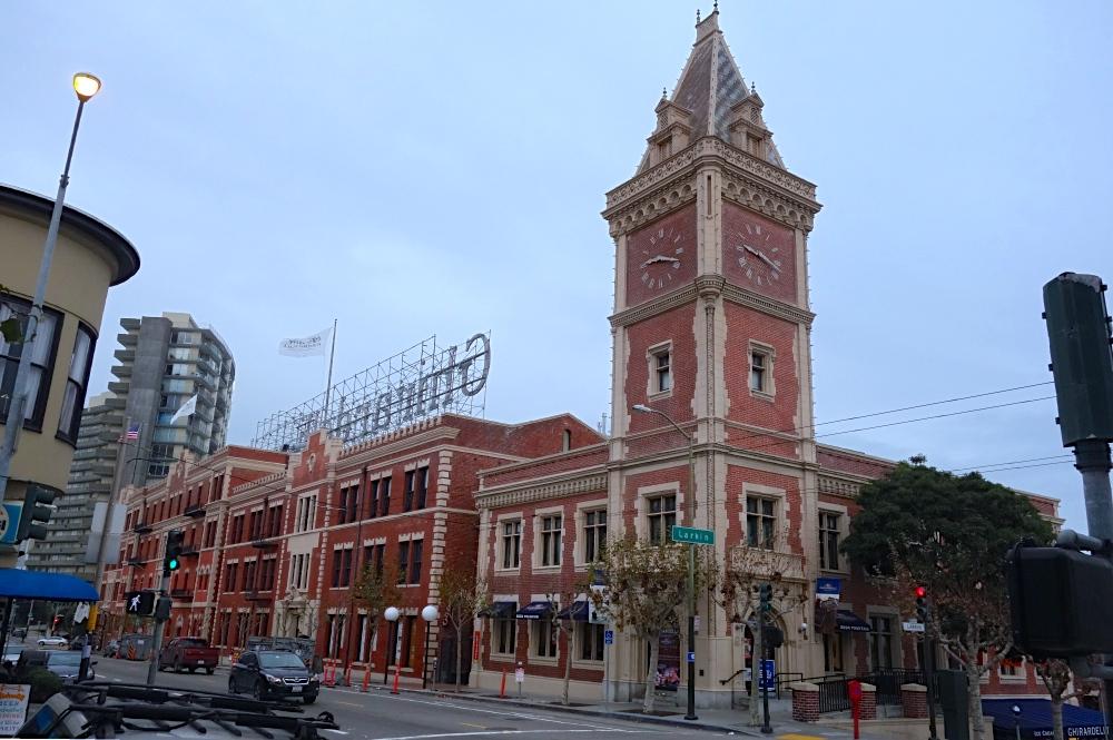 Ghirardelli Square Chocolate Factory Tour