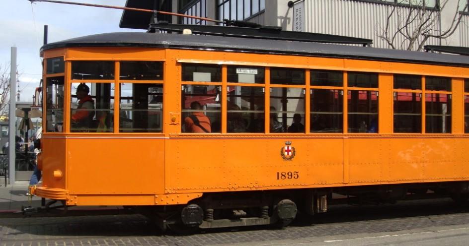 orange F-Line Car
