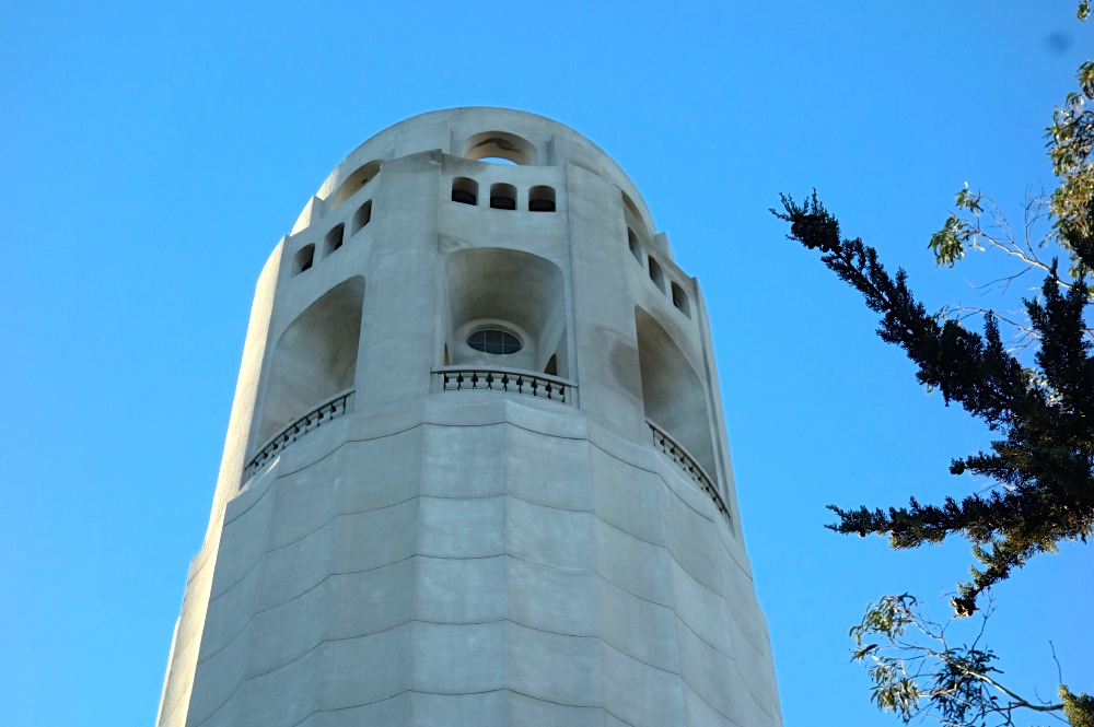 Coit Tower Up Close