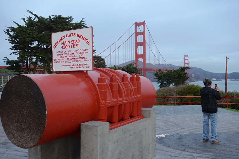 Cable of the Golden Gate Bridge