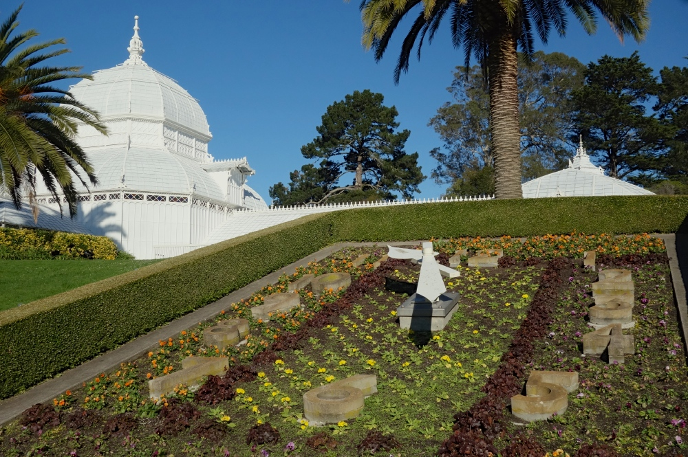 Conservatory of Flowers Clock