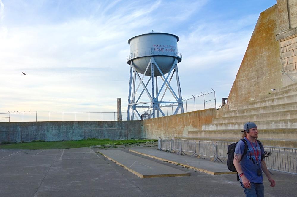 Alcatraz Exercise Yard