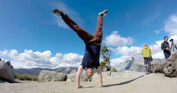 Yosemite Camping Trip Cartwheel