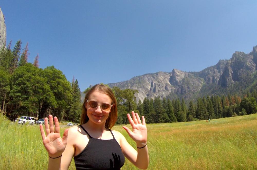 Solo Female Travel to Yosemite