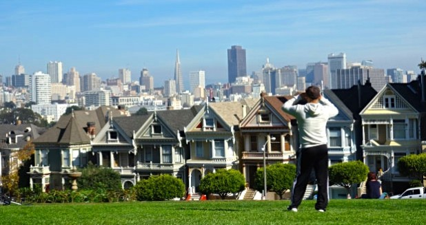 Best View San Francisco Alamo Square