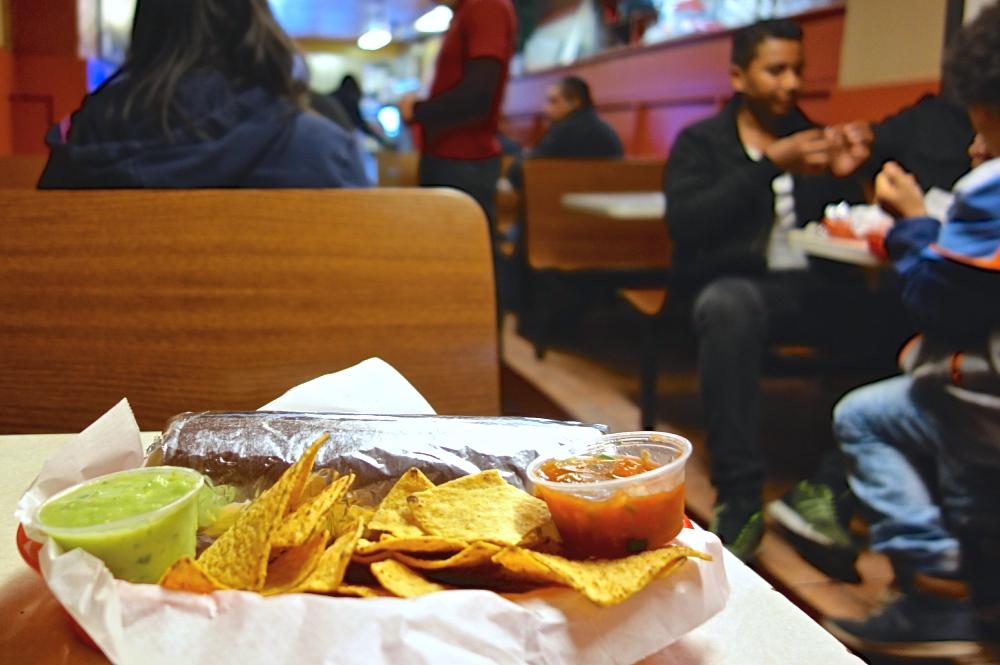 El Farolito Late Night Burrito SF