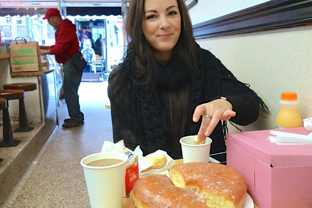 Bobs Donuts Single Female Traveler