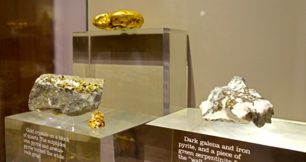 Stolen Gold in Wells Fargo History Museum