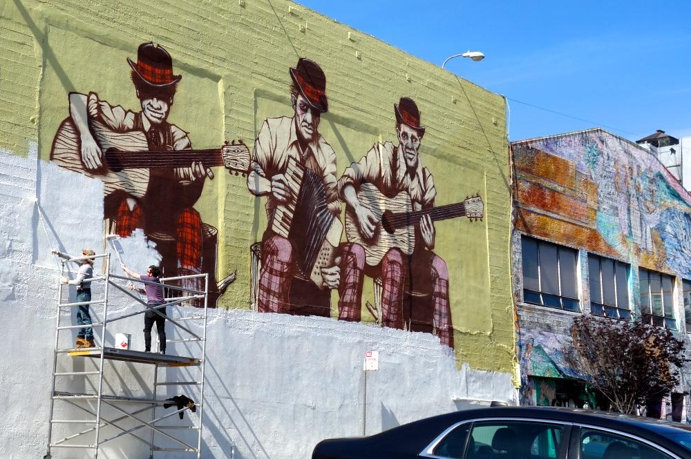 Polk Street Banjo Art