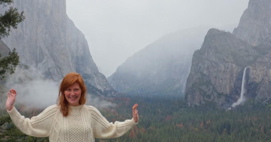Netherlands-Single-Female-Traveller-in-Yosemite